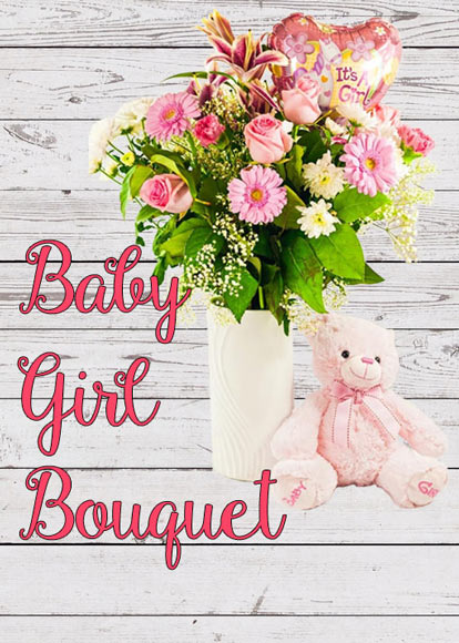 Baby Girl Bouquet