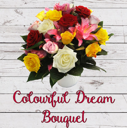 Colourful Dream Bouquet
