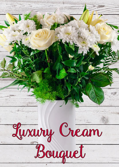 Luxury Cream Bouquet