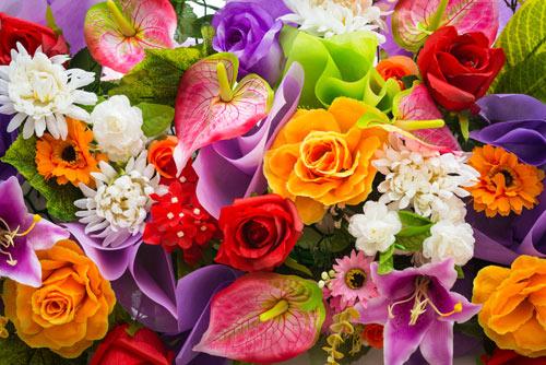 Flower Bouquet Colours