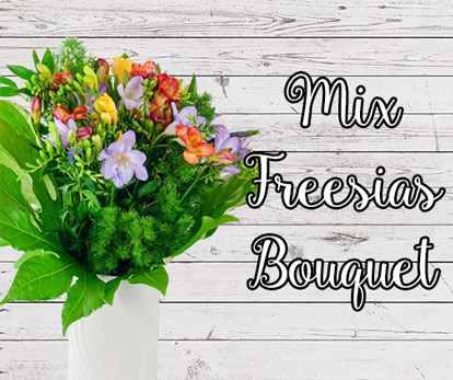 Mix Freesias Bouquet