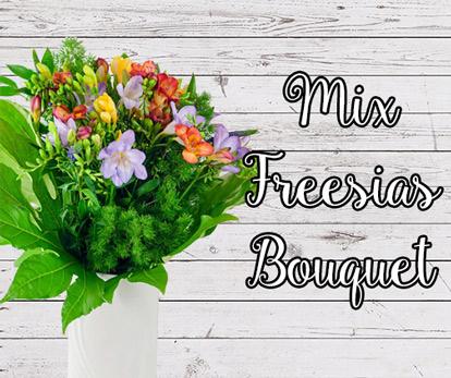 Mix Freesias Bouquet