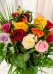 Vikiflowers flowers by post 20 Mix Roses Bouquet