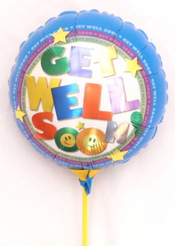 Vikiflowers flowers online Get Well Balloon