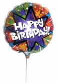 Vikiflowers online flower delivery Happy Birthday Balloon