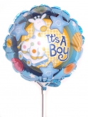 Vikiflowers flowers delivered uk It's a Boy Balloon