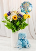 Vikiflowers flowers for delivery It's a Boy