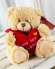 Vikiflowers flowers delivered uk Keel Toys 'Love' 18cm Bear