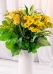 Vikiflowers flowers delivered uk Lemon Lips Bouquet