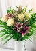 Vikiflowers flowers by post Lilies & Roses Bouquet