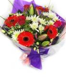 Vikiflowers flowers delivered uk Pastel Beauty Bouquet