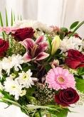 Vikiflowers send flowers uk Pink Blush Bouquet