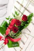 Vikiflowers flowers delivered uk Seduction Bouquet