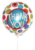 Vikiflowers flowers online uk Thank You Balloon