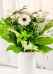 Vikiflowers flower delivery london White Gerberas