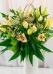 Vikiflowers flowers by post White Lilies Bouquet