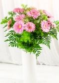 Vikiflowers send flowers uk Pink Gerberas Bouquet